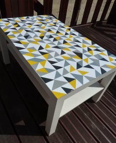 Idées DIY : 7 façons de customiser une table Ikea Lack | Immobilier | Scoop.it