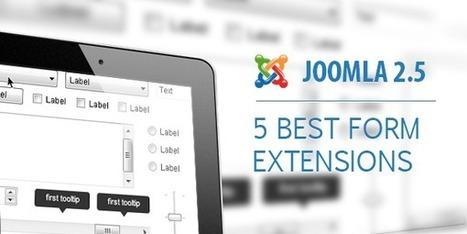 Joomla! 2.5 Form, what are the 5 best extensions?   Joomla   Scoop.it