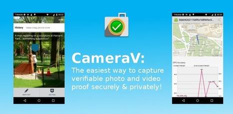 CameraV: Secure Verifiable Photo & Video Camera | The Guardian Project | Actus vues par TousPourUn | Scoop.it