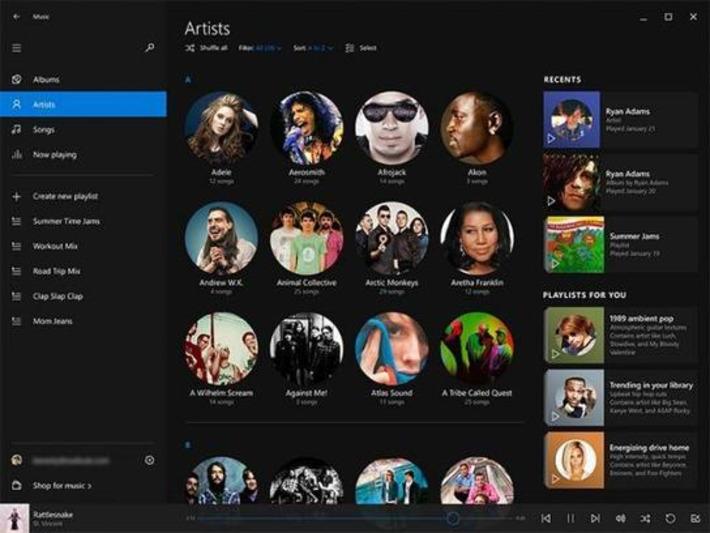 Microsoft : sa nouvelle appli musicale pour Windows 10 ressemble beaucoup à Spotify | TIC et TICE mais... en français | Scoop.it