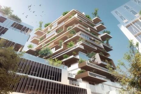 Bordeaux Euratlantique choisit deux tours bois au lieu d'une   Immobilier L'Information   Scoop.it