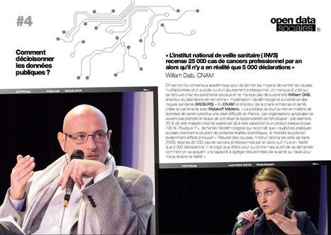 Santé au travail : comment décloisonner les données publiques ? I Rodolphe Elderlé | Entretiens Professionnels | Scoop.it
