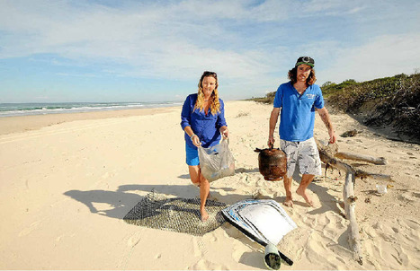 Pristine South Ballina beach now turning into a garbage dump - Northern Star | Global Recycling Movement | Scoop.it