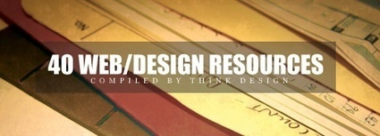 40 Great Web/Graphic Design Resources | Think Design | Web Design | Scoop.it