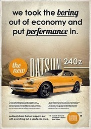Robert Wallace - Google+ - Poster for Datsun 240z by +Michael Schmid. … | Google Plus Socializer | Top Rated Google Plus Friend Adder | Scoop.it