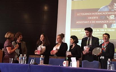 Finale du Tournoi inter académique des B.T.S. Assistant de manager (TIAM) 2016   Actualités du lycée Sophie Berthelot - Calais   Scoop.it