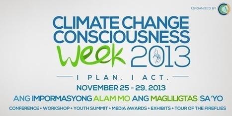 Climate Change Consciousness Week 2013 | Civil Service Exam | Philippine Festivals | Scoop.it