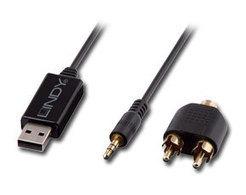 Audio Grabber USB 2.0   Memorie, Card Reader & Multimedia USB   USB & Firewire   LINDY IT   LINDY   Scoop.it