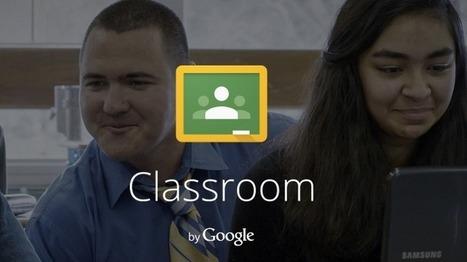 En la nube TIC: Google Classroom | TIC potenciando la educación | Scoop.it