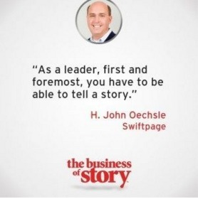 Creating an Authentic Brand Story at Swiftpage | Story and Narrative | Scoop.it