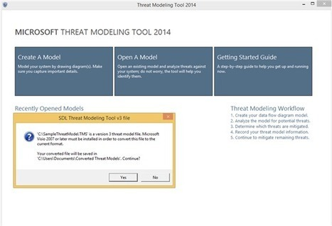 Introducing #Microsoft Threat Modeling Tool 2014 - The #Security Development #Lifecycle | #Security #InfoSec #CyberSecurity #Sécurité #CyberSécurité #CyberDefence & #DevOps #DevSecOps | Scoop.it