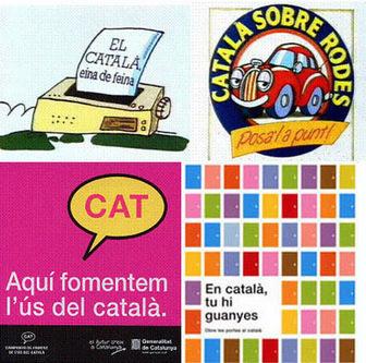 Campanyes de foment de la llengua. Llengua catalana. Generalitat de Catalunya   Dissertation   Scoop.it