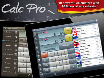 Top Selling Mobile Calculator iPad App Calc Pro HD | Sharing social commerce benefits | Scoop.it
