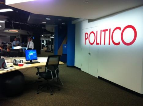 Politico, un site sachant imprimer | Communication Digital x Media | Scoop.it