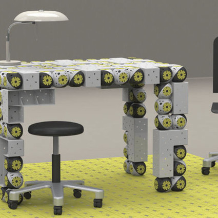 Self-Assembling Transformer Furniture Robots Put Ikea to Shame | Robots and Robotics | Scoop.it