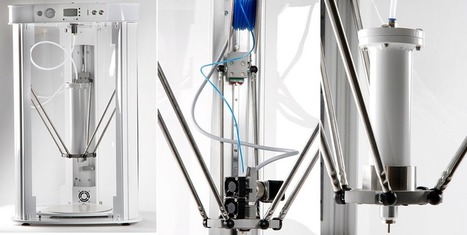 New Gaja 3D Multitool Printer — Multi-Functionality with Dual Extruders & Ten Printing Heads | Digital Fabrication | Scoop.it