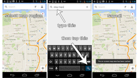 How to Cache Offline Maps in the New Google Maps for Android | Bazaar | Scoop.it