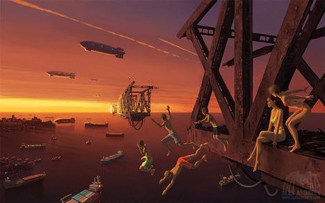 Alex Andreyev's Surreal Art Collides Different Worlds | Best Urban Art | Scoop.it