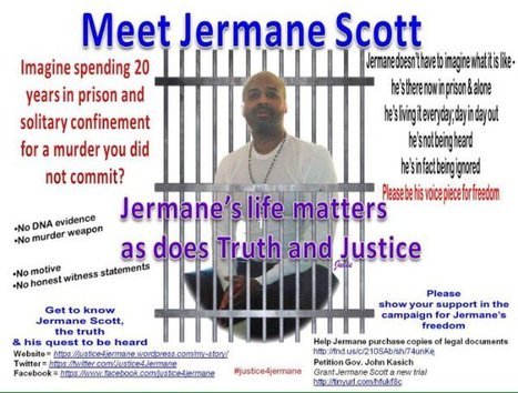 PLS RT/RD Jermanes story #innocent in #prison 4 #life 4 a crime he DIDNT COMMIT | SocialAction2015 | Scoop.it