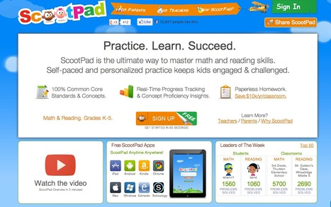 ScootPad :: Practice. Learn. Succeed. | Reading | Scoop.it