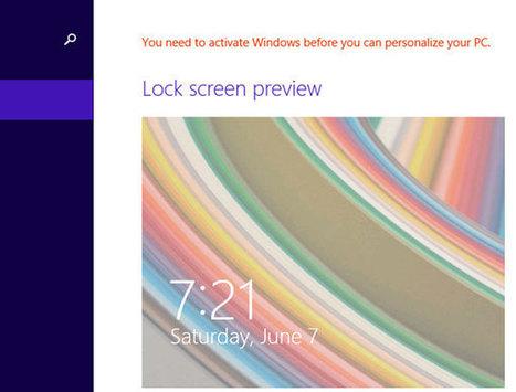 Kích hoạt lại Windows 8 sau khi cài đặt hoặc nâng cấp phần cứng | Đổ mực máy in tại nhà | Scoop.it