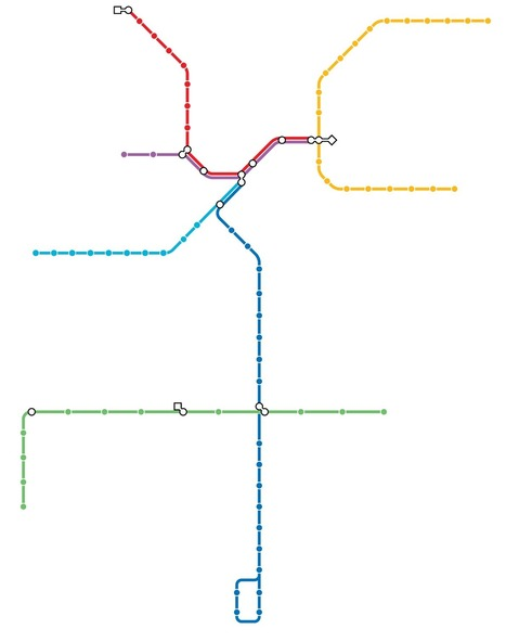 Quiz: Can you name these cities just by looking at their subway maps? | Geography Education | Scoop.it