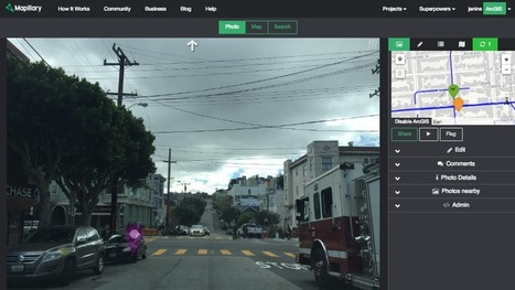 Mapillary for ArcGIS | Everything is related to everything else | Scoop.it