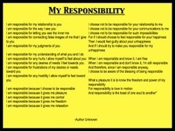 My Personal Responsibility Poem - Social Leadership Development Blog | the age of the people: activating our personal power | Scoop.it