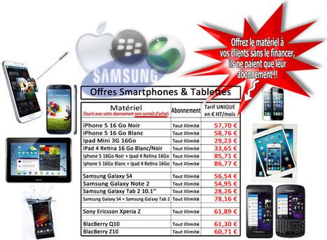Offre Partenaires Smartphones Tablettes - ProgetCom France | ProgetCom, Courtier en Téléphonie multiopérateur et Prestataire en Téléprospection | Scoop.it