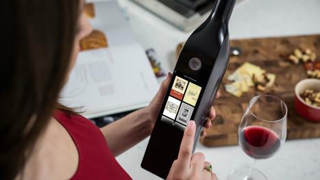 Cette étonnante bouteille connectée est-elle l'avenir du vin? | Vin 2.0 | Scoop.it
