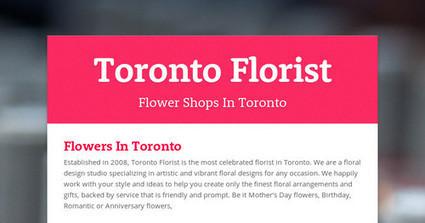 Toronto Florist | toronto flowers | Scoop.it