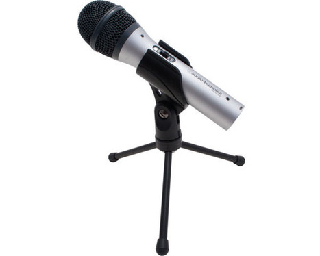 Audio-Technica ATR2100-USB Handheld Microphone Reviewed | Equipment and Techniques for Webcasters and Podcasters | Scoop.it