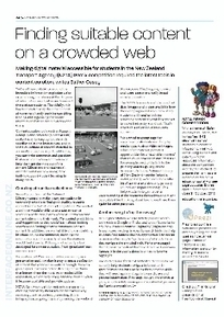 Finding suitable content on a crowded web | Creating readers | Scoop.it