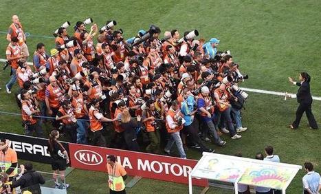 Coupe du monde de football : les coulisses de la photographie sportive | Photography Now | Scoop.it