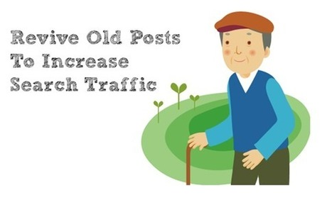 Revive Old Posts To Increase Search Traffic | Successful Blogging | Scoop.it