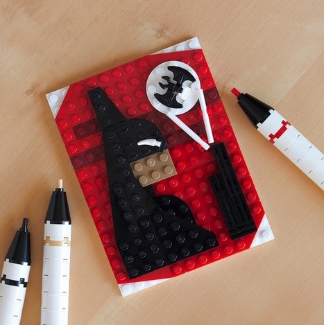 LEGO : Portraits Of Batman & Other Pop-Culture Characters | Identité visuelle | Scoop.it