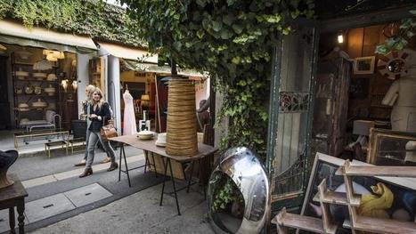 Vent de nouveautés sur les Puces de Saint-Ouen | CD-rooms | architecture intérieure & décoration | Scoop.it