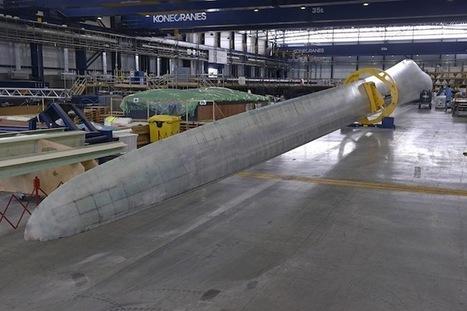 Vestas testera une pale d'éolienne de 80 mètres | Wind Power : innovation et R&D | Scoop.it