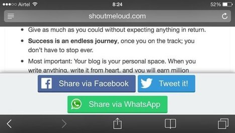 How To Add WhatsApp Sharing Button On WordPress For More Traffic | Learn WordPress | Scoop.it