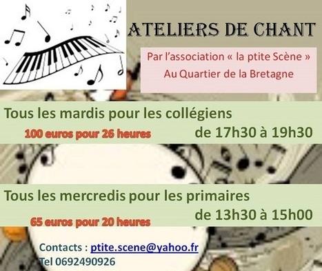 Ateliers de chant (St Denis) | musique et danse | Marmailles.com | Scoop.it
