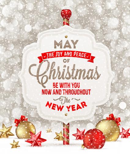 Vectores postales de navidad 2014 | Recursos | Scoop.it
