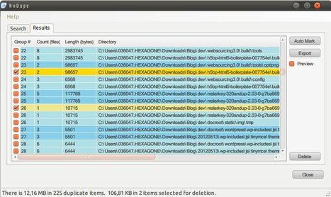 NoDupe, supprimer les doublons de fichiers et répertoires   netnavig   Scoop.it
