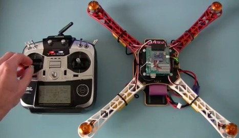 It's never been so easy to build your own Arduino-based quadcopter | Open Source Hardware News | Scoop.it