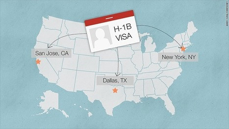 High-skilled visa applications hit record high in the U.S. | EconMatters | Scoop.it