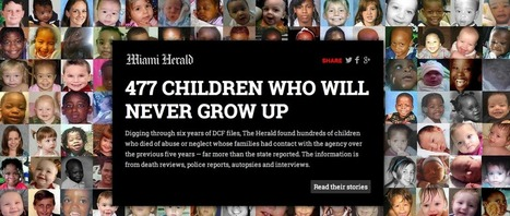 How the Miami Herald told the story of 477 child deaths | Poynter. | Public Relations & Social Media Insight | Scoop.it