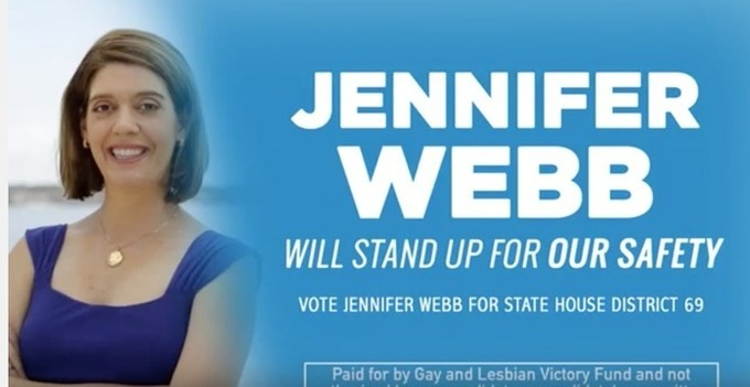 Gay and Lesbian Victory Fund internet videos to support LGBT state candidates; pushes gun issues