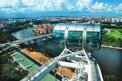 Singapore Flyer gives you the best view of Singapore | Singapore Attractions | Scoop.it