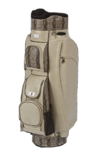 Cutler Sports Ladies Cart Golf Bags -  Sofia Linen Phyton | Golf Bags | Scoop.it