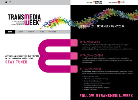 @Transmedia_Week: un primer balance. | #transmediascoop | Scoop.it