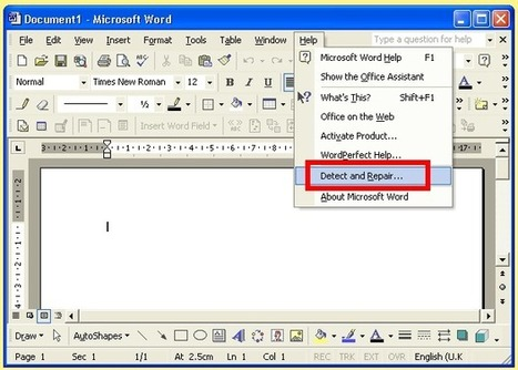 Make efficient Access Database File repair with Microsoft Detect and ... | MS Office Recovery | Scoop.it